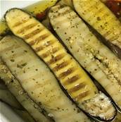 COURGETTES GRILLEES